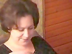 Пьяный русске Mother соблазнил молодость