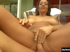 Persia Monir is a brunette MILF, whos