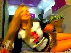 Webcam ucraniana rubia