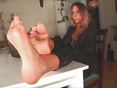 Hete Milfs met Sexy voeten