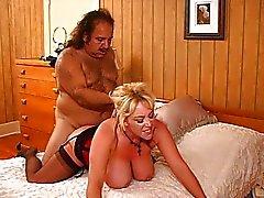 Kandi Cox opengespleten door Ron Jeremy