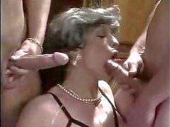 dupla penetração francês amadurece