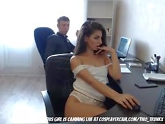 My Co-worker is a Camgirl (HUUU)