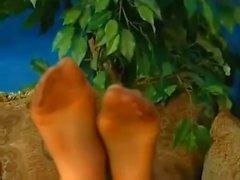 Mit Aria Giovanni Fuß Fetisch