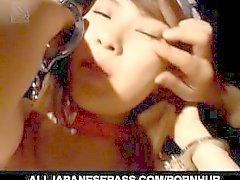 sexe de groupe avec sleazy Hikaru Hinata
