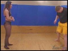 cutie kicks his ass and balls part 5