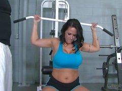 Carmella Bing sexkameror gymmet