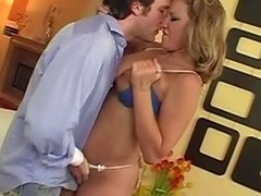 Nikki Sexx gets her shaved slit shagged