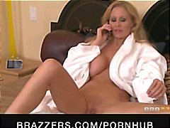 Big-tit MILF Pornstar Julia Ann massaged then fucked by hard dick
