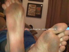 Fuß-Fetisch - Cliff Jensen Feet Video 1