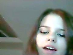 Zeer hete webcam koppel