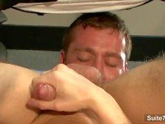 Splendida omosessuale ottiene il di estremità inchiodati nella sede