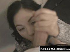 KELLY MADISON - Kendra Spade Gets Fucked i röven och ett ansikte fullt av jizz