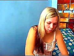 Hete Blonde webcam girl