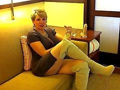 Hotel di masturbazione di 37 anni agente di Michell