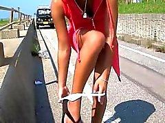 Ett annat milslånga videoklipp i Hagia jävlas i det offentliga