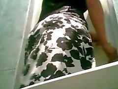 Pantyhose Kusta Spycam häät WC