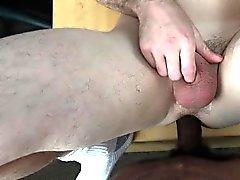 Cocksucking casting straighty barebacked