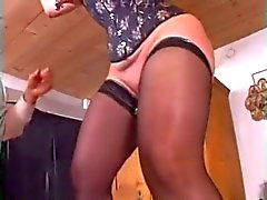 att dubbel knytnäve anal - vaginal för att a subsmissive Form BBW mogen