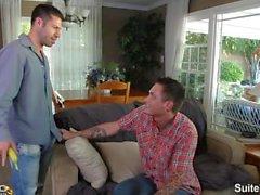 uomo sposato di Sebastian Fischer ottiene inchiodato dalla eccitati omosessuale Tristan Jaxx