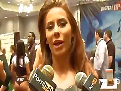 PornhubTV Madison A hera Entrevista de a 2014. AVN Awards