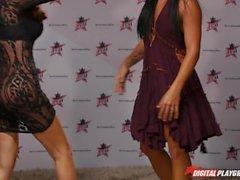 DP Star 3 - Morena Estrella porno Morgan Lee Garganta profunda Mamadas