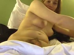 Sexy swedish babe has a clear cumshot