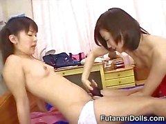 Cute Futanari Babysitters!