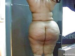Ruby BBW Big Butt mexikanska Latina