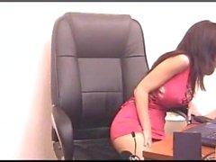 Каталина Круз - nudechat в розовом 2005-11-07