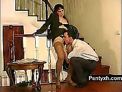 Auspicious Charming Pantyhose Hottie Secretly Screwed