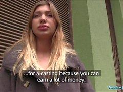 Agente Público Hot modelo prospecto Vyvan Hill follada
