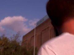 Gespielt - Luke Desmond wird von Fremden Mark Coxx gefickt