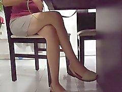 amateur fetichismo del pie cámaras ocultas público