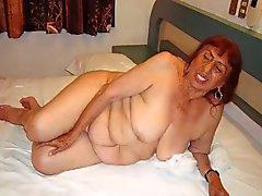 Horny в Мексики бабушки и ее удивительная нагое тело