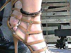 Kapüşonlu ölçülü ayağa devrilmiş sınırlanmış