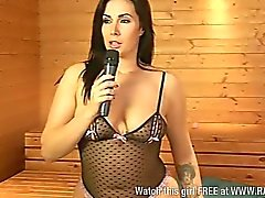 Danni Levy followed by Paige Turnah in sauna