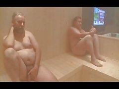 2 Bears , een kerel neuken in de sauna 2 MILFs - door neurosiss