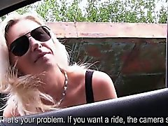 Blonde Alena gets picked up and fucked