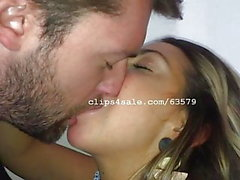 Dave and Samantha Kissing Video 5