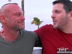 El Chad Brock de libras del semen de a su del novio de arcilla Torres
