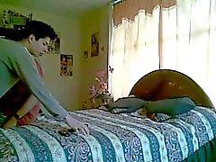 Gay liefhebbers zelfgemaakte sex video
