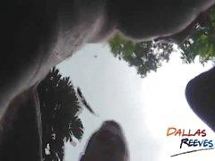 Bareback session de la piscine avec Seth Jonson