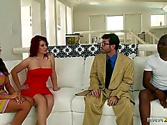 Oscilación interraciales con Ariela de Ferrera y Sarah de Blake