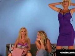 Penthouse Pet Nikki Benz & Fuck Bud Puma Swede nuda in cam!