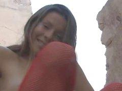 Emily achtzehn reizvollen Wäsche Natur