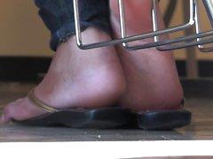 Tory Lane na cena fetiche dos pés