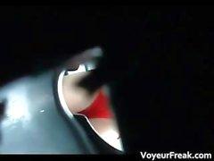 La Pissing close up inodoro cam Exhibista part6