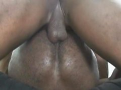 Hot Black Black Men Dans le sexe anal intime et asslcking