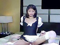 Сюзанна Филиппинский Косплей Под Maid получить по согласилась Трудно ебать